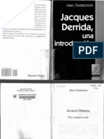 Goldschmit Derrida Una Introduccion