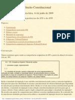 Competências do STJ e do STF