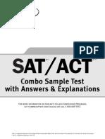 Sat Act Practice Test
