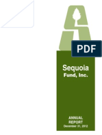 Ruane Cunniff Sequoia Fund Annual Letter