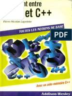 Pont Entre C Et C Plus Plus