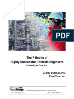 Habits of Successful Controls Engineers
