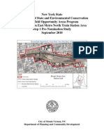 Mt. Vernon East Brownfields grant application