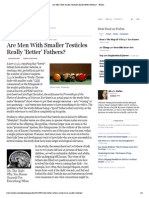 Are Men With Smaller Testicles Really 'Better' Fathers_ - Forbes