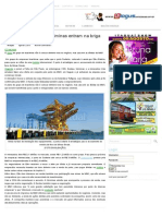 Jornal Atual Vale, CSN, Gerdau e Usiminas Entram Na Briga Por Porto Sudeste