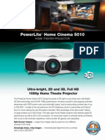 Home Cinema 5010 Product Specifications