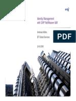 Identity Management With SAP NetWeaver IdM