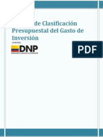 Manual Presupuesto de Inversion Dnp