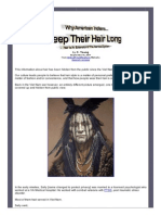 Why American Indians Keep Their Hair Long Hair is