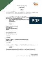 Modelo de Embargos de nulidade e Declaração
