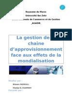 groupe n°30 - la gestion de la production face aux effets de la mondialisation