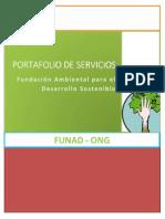 Portafolio de Servicios - FUNAD