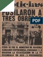 Diario Noticias - Argentina ´Diario Noticias Numero 186 - Mayo-1974