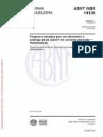 Abnt Nbr 14136 - Emenda 01