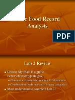 Diet Analysis Lab (1)