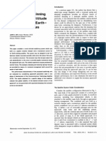 The Use of a Spinning Dissipator for Attitude Stabilization of Earth- Orbiting Satellites