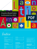 Country Brand Index - Latinoamerica