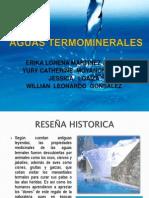 Agua Termominerales