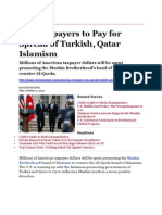 BO Promotes MB With U.S. Taxpayer Millions