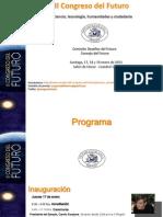 Programa II Congreso Del Futuro
