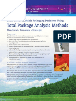 SES - Total Package Analysis Methods