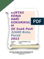 Kertas Kerja Hari Kokurikulum2013 SK Suak Padi