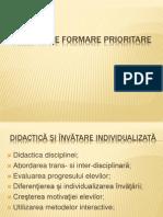 Directii Prioritare de Formare 2013-2014