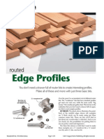 Routed Edge Profiles