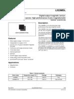 LIS3MDL Datasheet