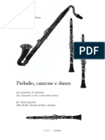 DallAlbero Clarinet 4et Score