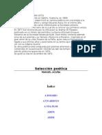 Acu±a Manuel - Seleccion Poetica