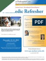 UCLA Paramedic Refresher Nov 2013