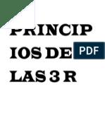 Principios de Las 3 r