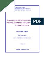 068 Diagnostico Org Aguas 1999