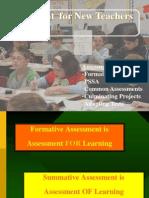 assessment for new teachers