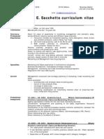4 CV Giorgio Sacchetto 2009 - May