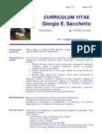 3 CV Giorgio Sacchetto - Maggio 2009