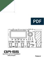 Mode d'Emploi GR-55