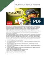 Holocaust Facts, Holocaust Stories, & Holocaust Denial