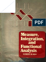Ebooksclub.org Measure Integration and Functional Analysis