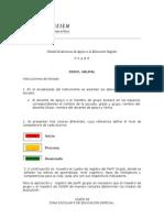 Instrucciones de Llenado Del Perfil Grupal 160509