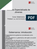 (1)Diapositivas ¿que es gobernanZa