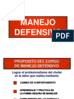 MANEJO DEFENSIVO 2011