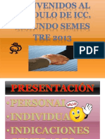 PRESENTACIÓN DEL MÓDULO DE INTRODUCCIÓN A LA COMUNICACIÓN CIENTÍFICA
