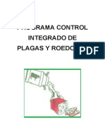 Programa de Control Integrado de Roedores Actualizado
