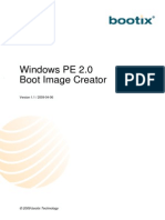 Windows Pe 2 0 Boot Image Creator