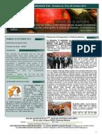 Bulletin d'annonces N°80 Semaine du 19 au 26 octobre 2013