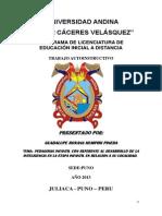 monografia PEDAGOGIA INFANTIL
