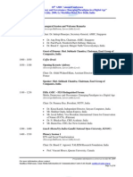 18th AMIC Annual conference programme