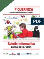 Boletín informativo del curso 2013-2014